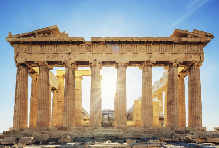 Acropolis Greece Parthenon Temple iStock_000021610339_Large