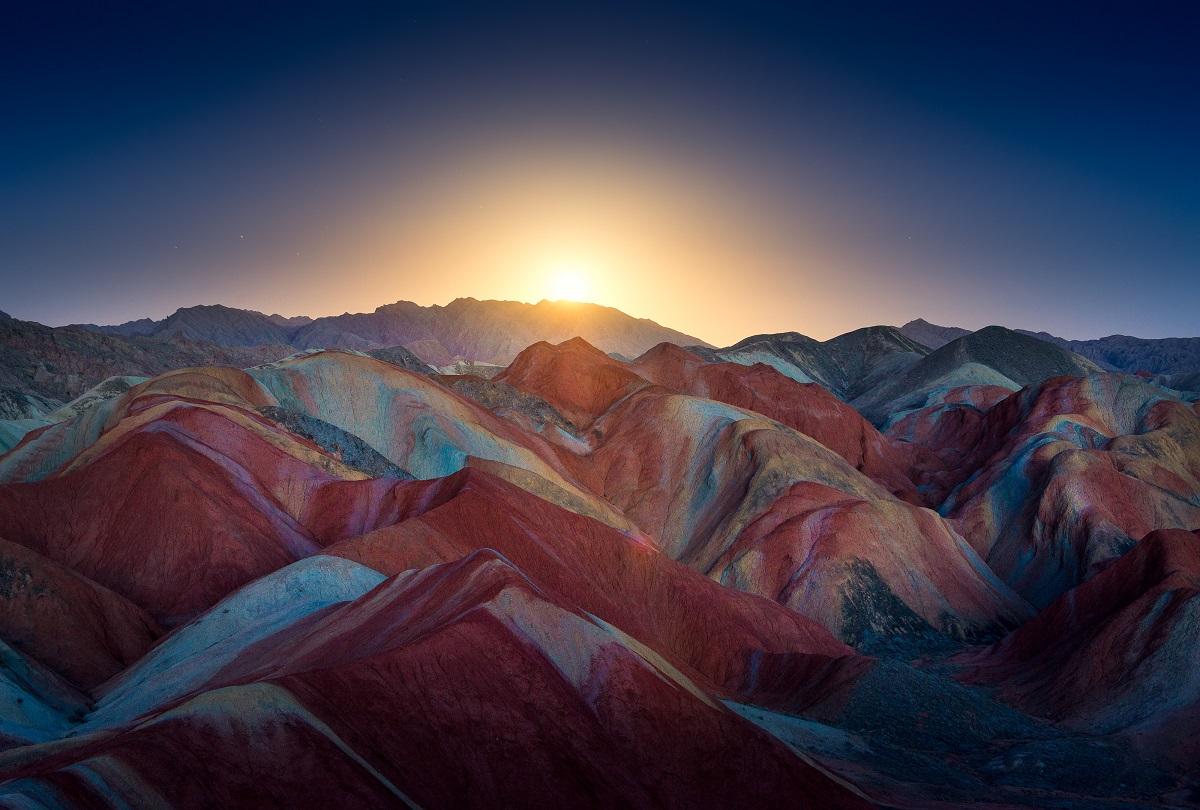 Regenbogen-Berge in China | Urlaubsguru.de