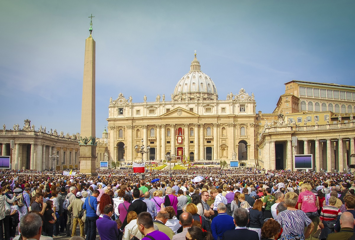 Petersdom - Rom Italien Vatikan Petersplatz Papst