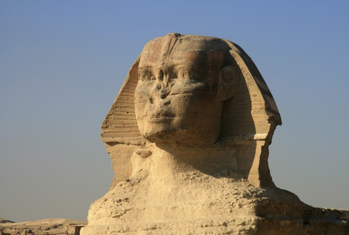 Great Sphinx of Giza in Cairo, Egypt iStock_000005921757_Large
