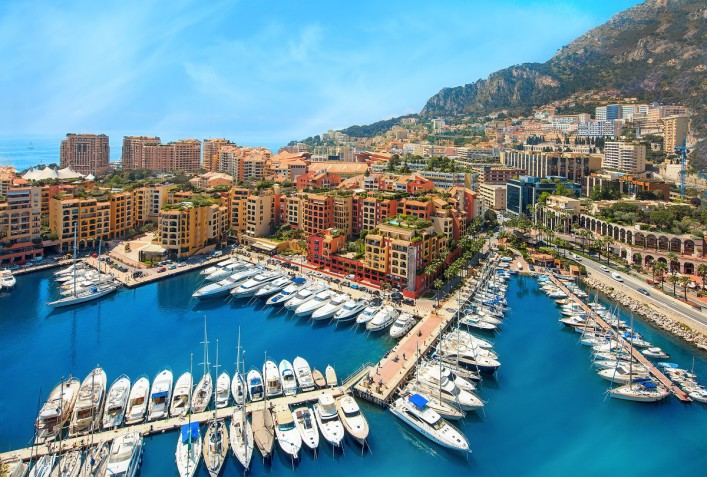 Luxury yachts in the bay of Monaco France shutterstock_209066446_1200