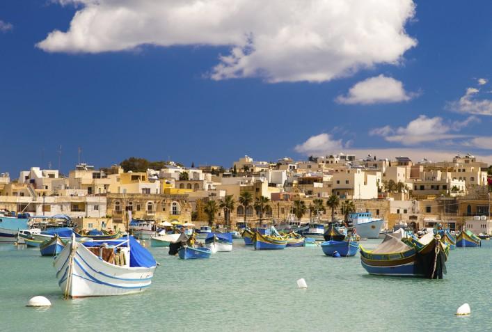 Marsaxlokk Harbor Malta iStock_000050764970_Large_1200