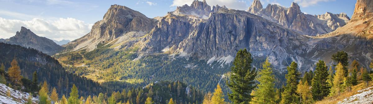 Mount Lagazuoi, Falyarego path, Dolomites
