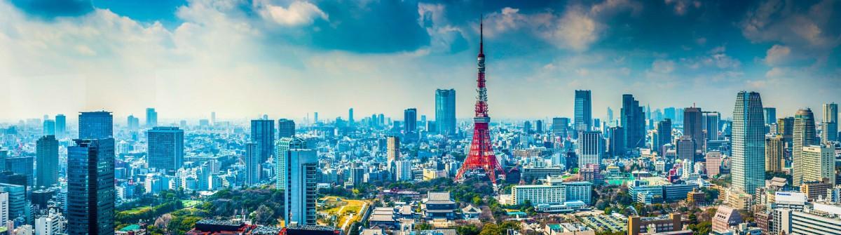 Tokyo Tower futuristic skyscraper cityscape crowding central iStock_000056457396_Medium-2