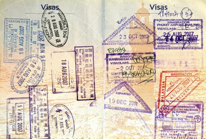 Visa stamps iStock_000047202340_Large