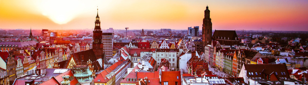 Wroclaw city sunset Poland iStock_000061335046_Large-2