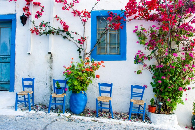 village house on the island of Kos Greece iStock_000005369758_Large-2