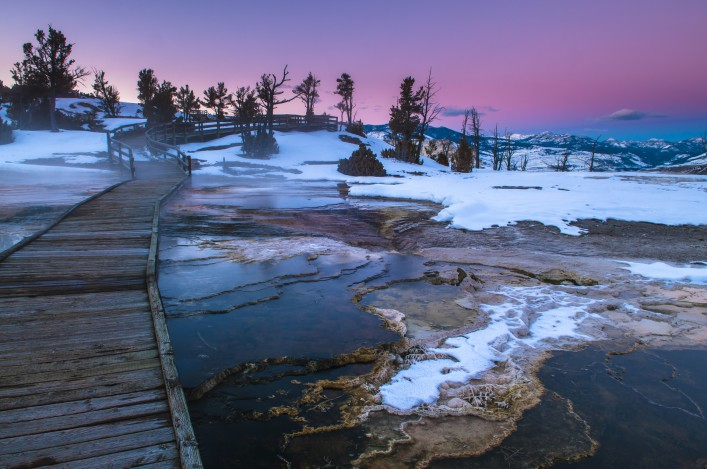 Yellowstone Nationalpark im Winter_USA_shutterstock_175050233