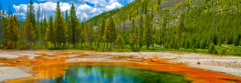 Yellowstone Nationalpark USA geysir_shutterstock_96972083