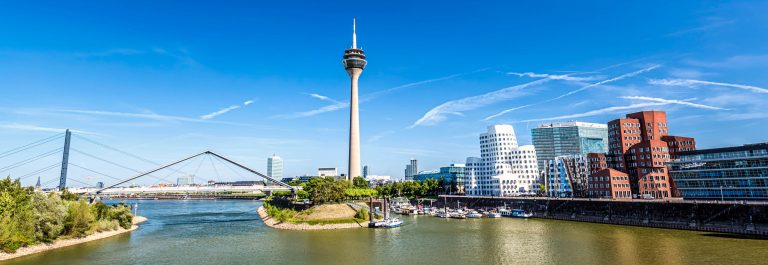 Skyline D?sseldorf, Germany