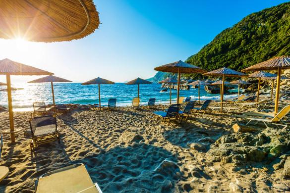 Skopelos Griechenland Strand
