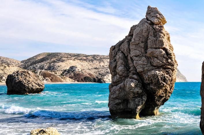 Aphrodite's rock, Paphos, Cyprus iStock_000008516336_Large-2