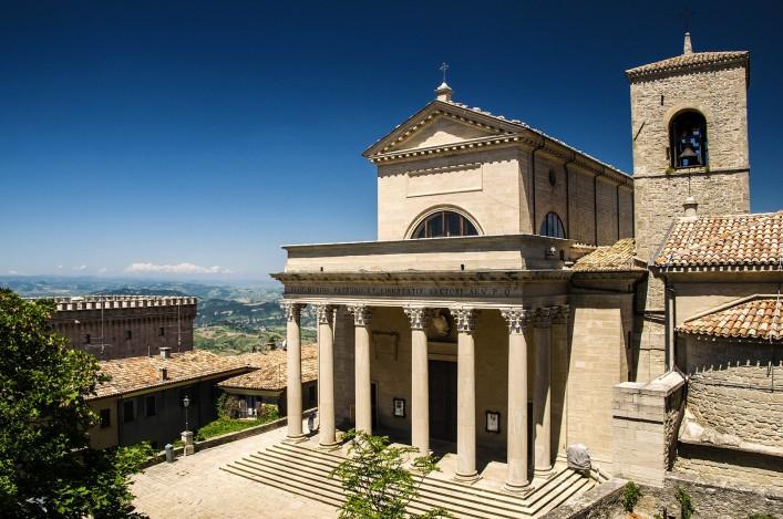 San Marino Italien Sehenswürdigkeit