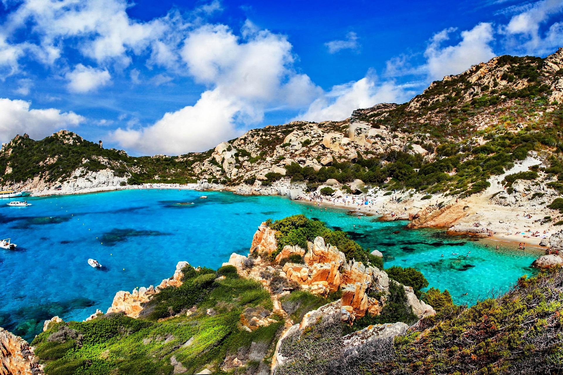 Die schönsten Strände auf Sardinien - La Maddalena, Cala Spalmatore