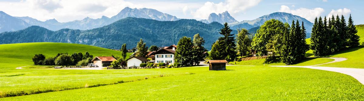 Village in the Allgaeu