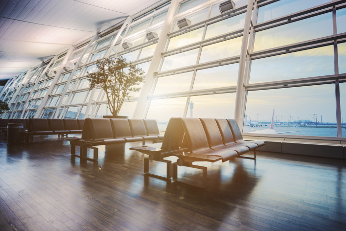 empty Airport Terminal iStock_000084275395_Large