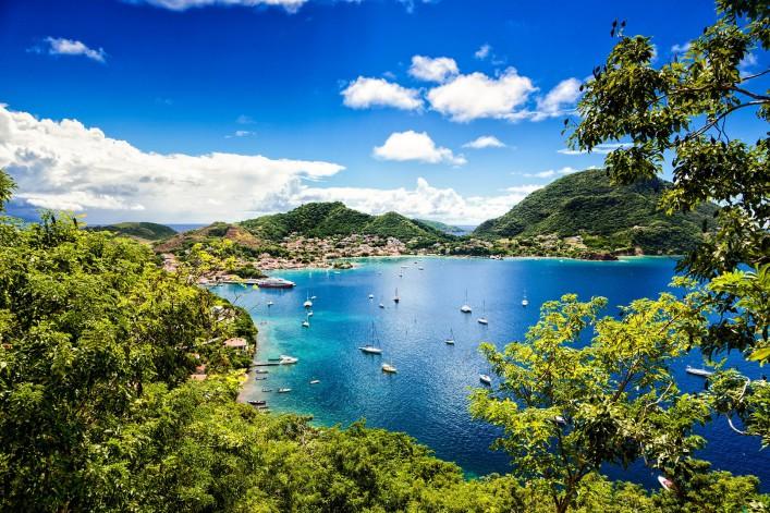 Bay of Terre-Haute, Les Saintes islands, Guadeloupe