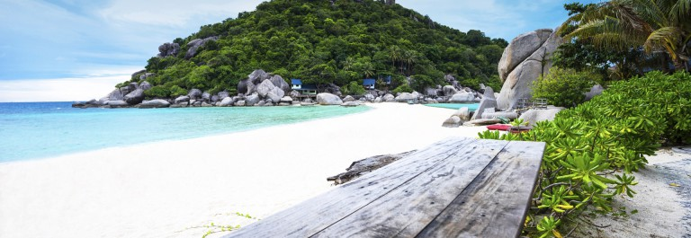 Inseln in Thailand Strand