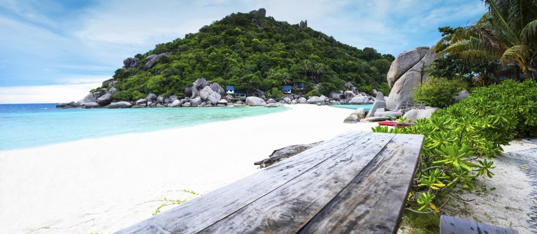 Inseln in Thailand Strand