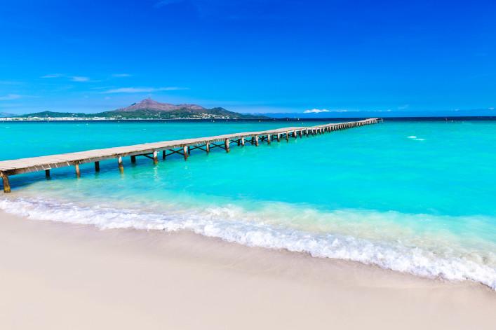 las playas más bonitas de mallorca platja de muro