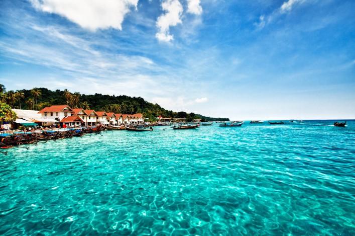 Inseln in Thailand Ko Phi Phi