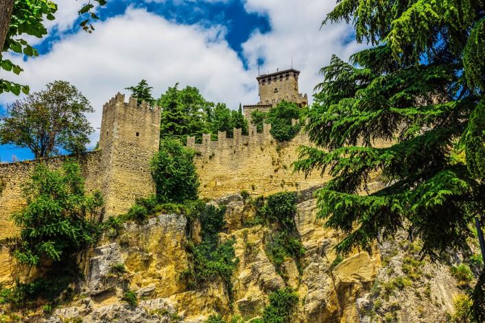 San Marino Italien Festung