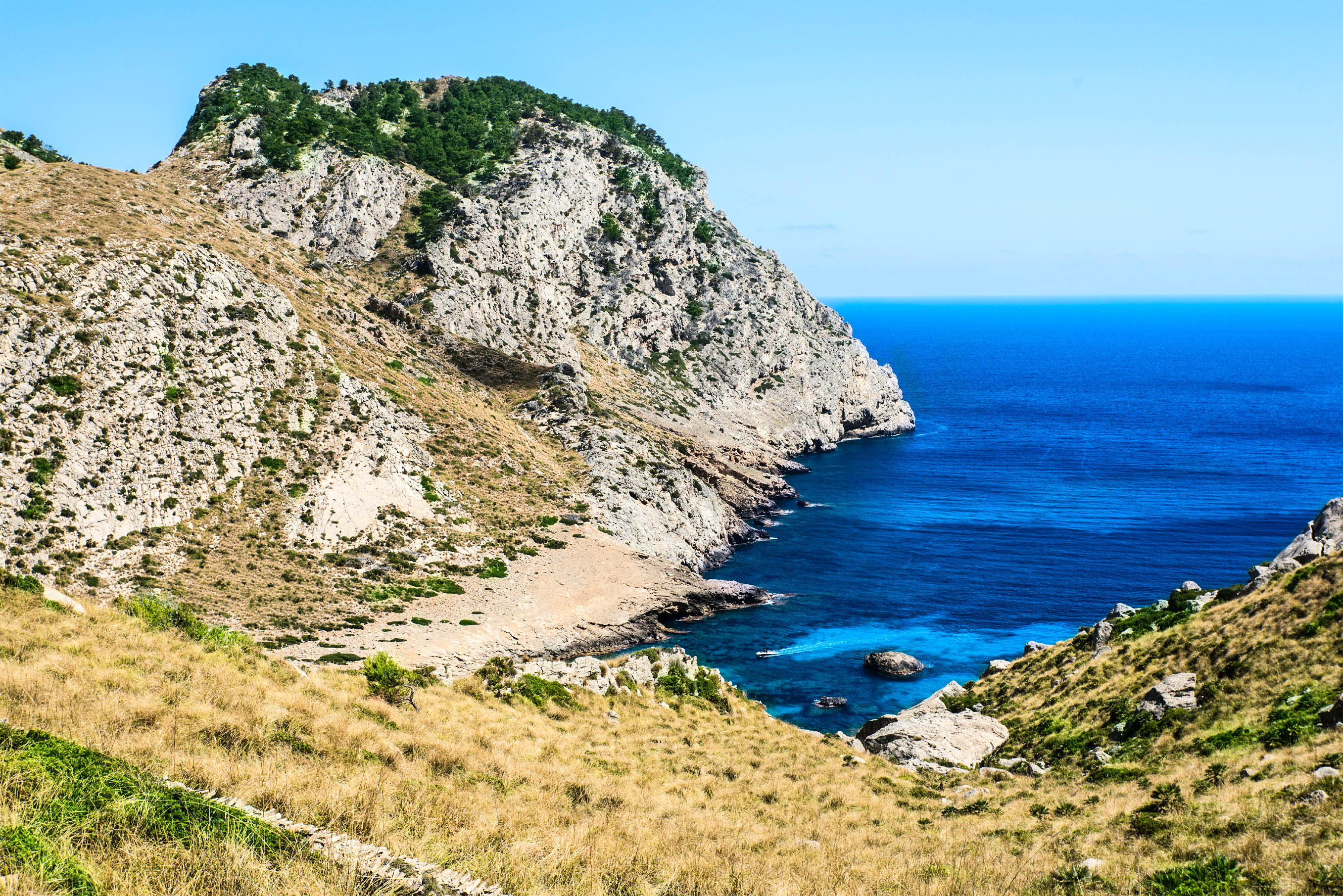 Het mooie strand Cala Figuera op Mallorca