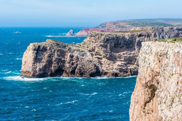 Die letzte Bratwurst vor Amerika Algarve Kap St. Vincent