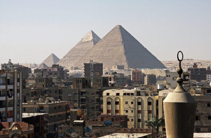 Pyramiden von Gizeh, Kairo, Ägypten