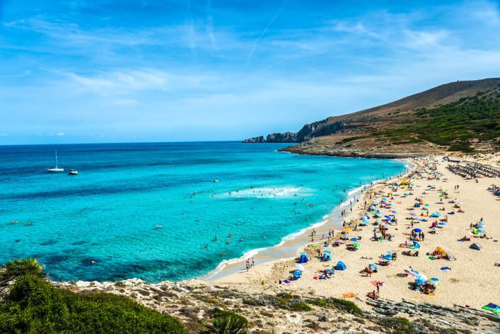 las playas más bonitas de mallorca cala mesquida