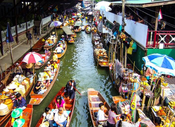 Bangkok Tipps Khlongs Markt
