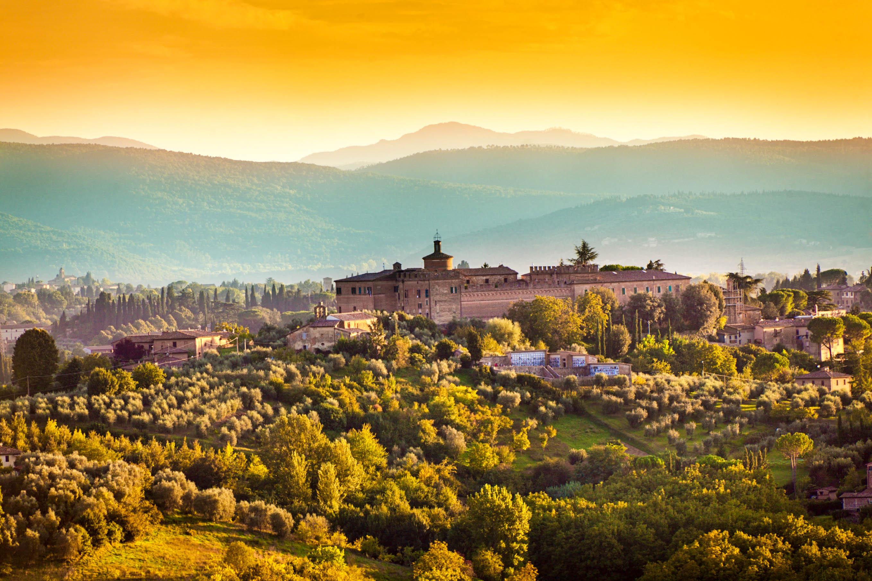 Siena Tipps - Umgeben von wunderschöner Landschaft