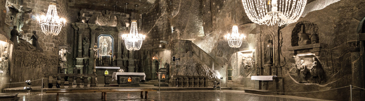 Underground Chamber in the Salt Mine, Wieliczka