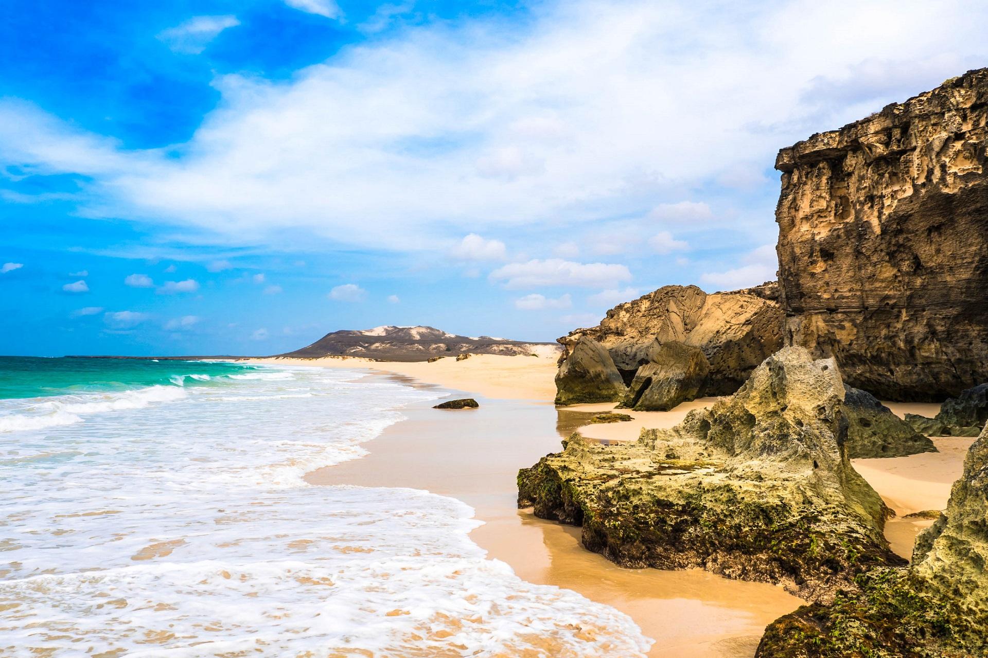 Kapverden Boa Vista Strand