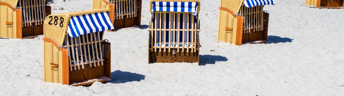 Strandkörbe in Schönberg