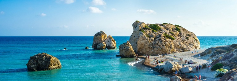 Birthplace of the goddess Aphrodite, Paphos, Cyprus shutterstock_221218363-2