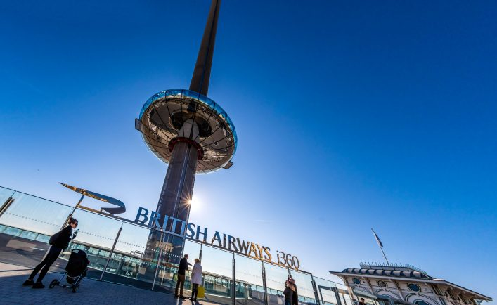 British Airways i360 Viewing Tower in Brighton