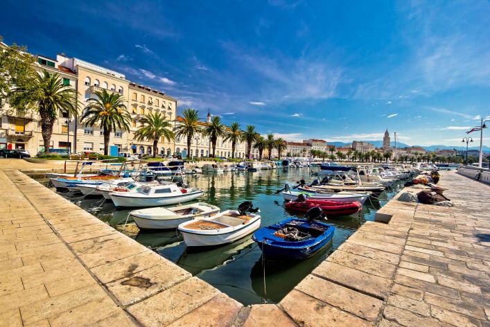 Split kleiner Hafen