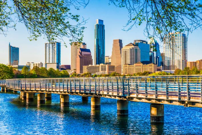 Austin TX cityscape