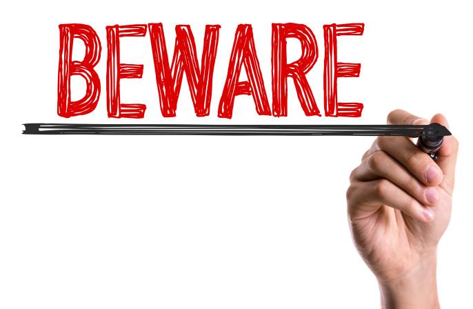 Beware Sign shutterstock_309625781-2