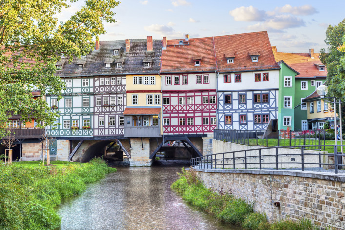 Bridge Kramerbrucke in Erfurt
