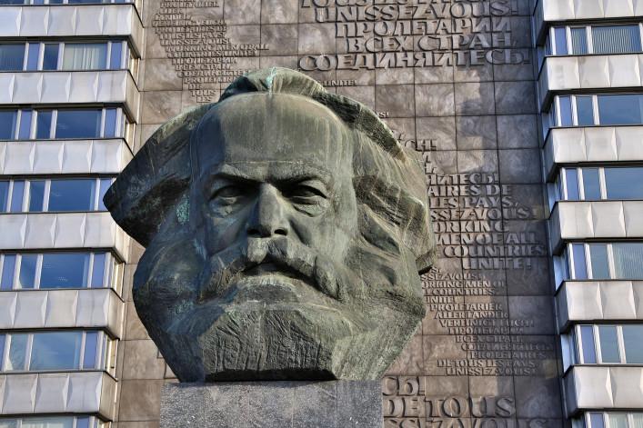 Chemnitz, Modern City at Saxony, Karl Marx monument shutterstock_170921189