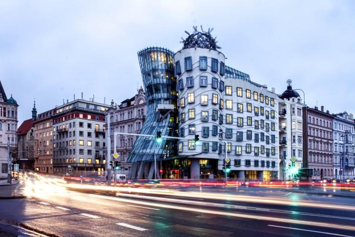 Sehenswürdigkeiten in Prag Tanzendes Haus