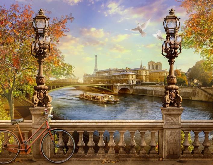 Paris Tipps Sehenswürdigkeiten Fahrrad Seine