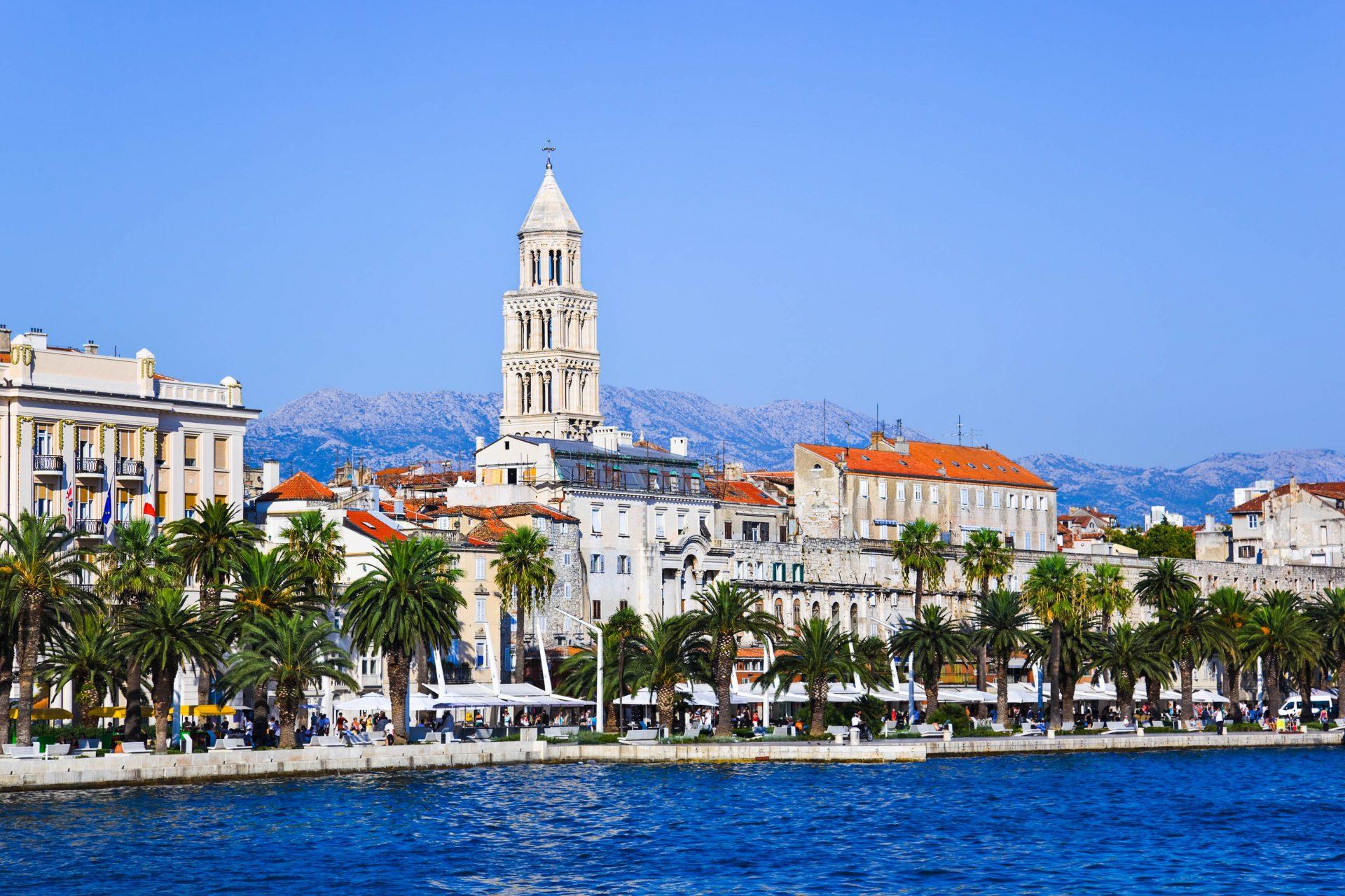 Der Diokletianpalast in Split