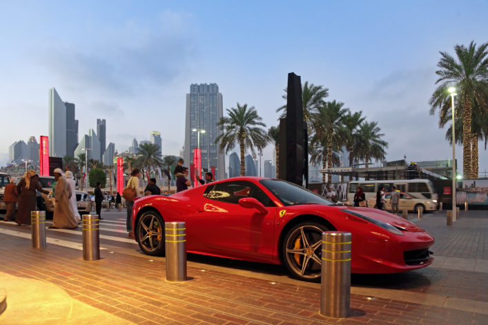 Dubai luxury car EDITORIAL ONLY ID1974 shutterstock_261418439