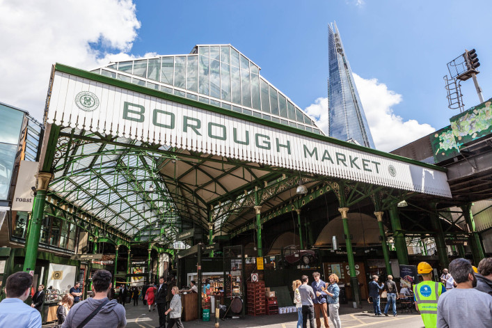 Entrance to Borough Market in London UK iStock_000043477340_Large EDITORIAL ONLY acmanley-2
