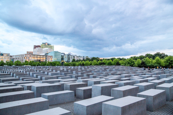 Holocaust Memorial in Berlin iStock_000070922785_Large EDITORIAL ONLY lechatnoir-2