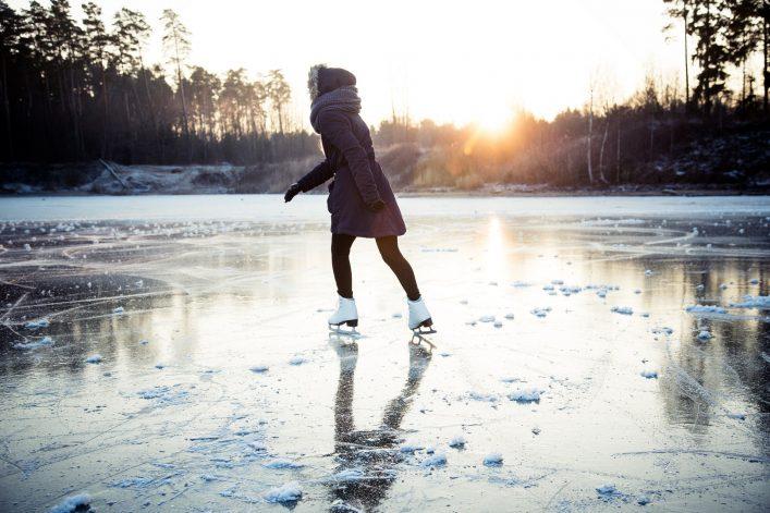Spreewald, Die Spree im Winter