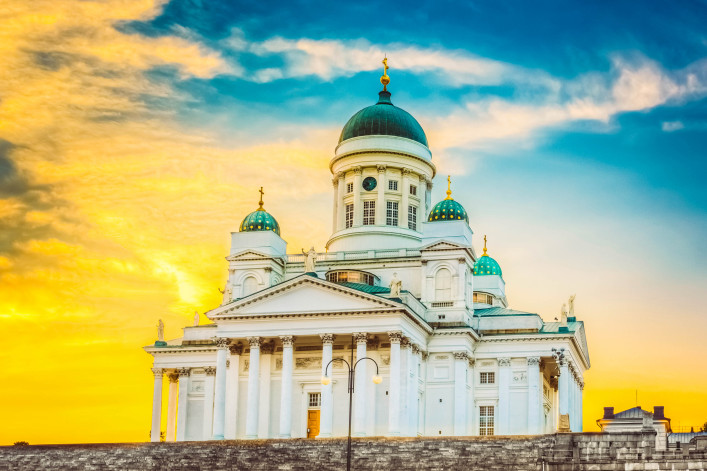 Kathedrale von Helsinki, Helsinki, Finnland iStock_000060719664_Large-2